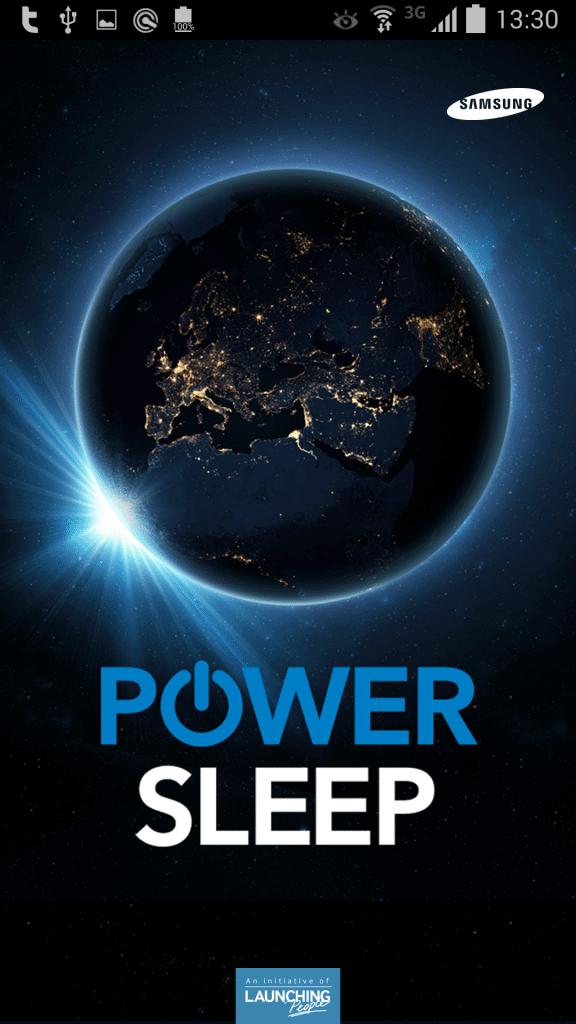 Samsung Power Sleep: faça o bem enquanto dorme