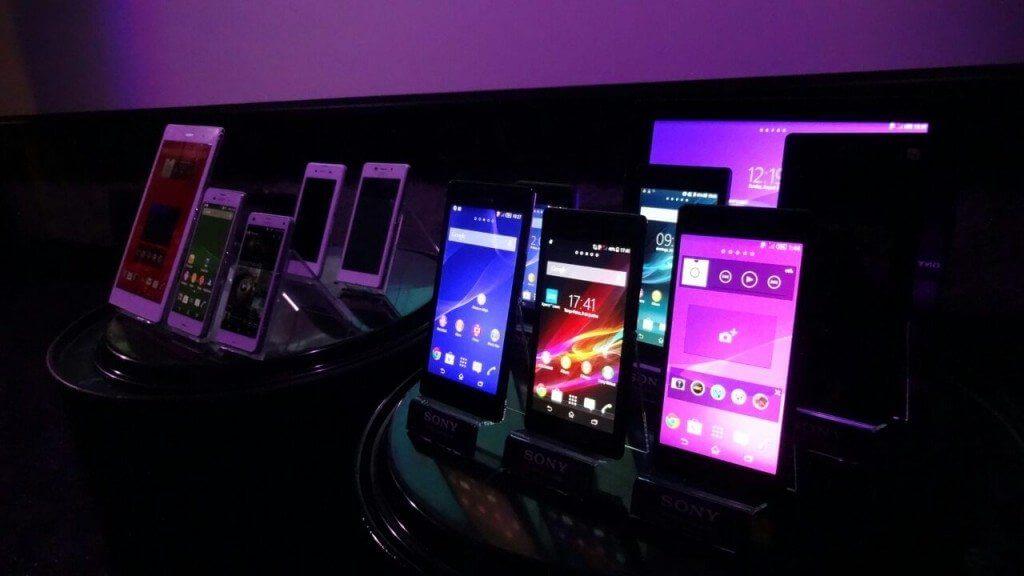 Sony apresenta xperia z3 e outras novidades1