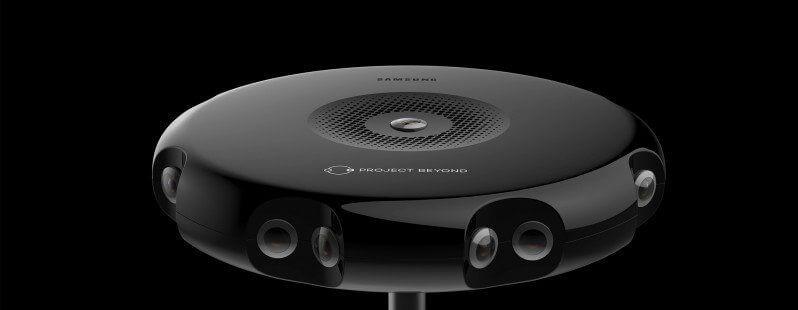 Samsung revela projeto Beyond: uma câmera em 360° para o Gear VR