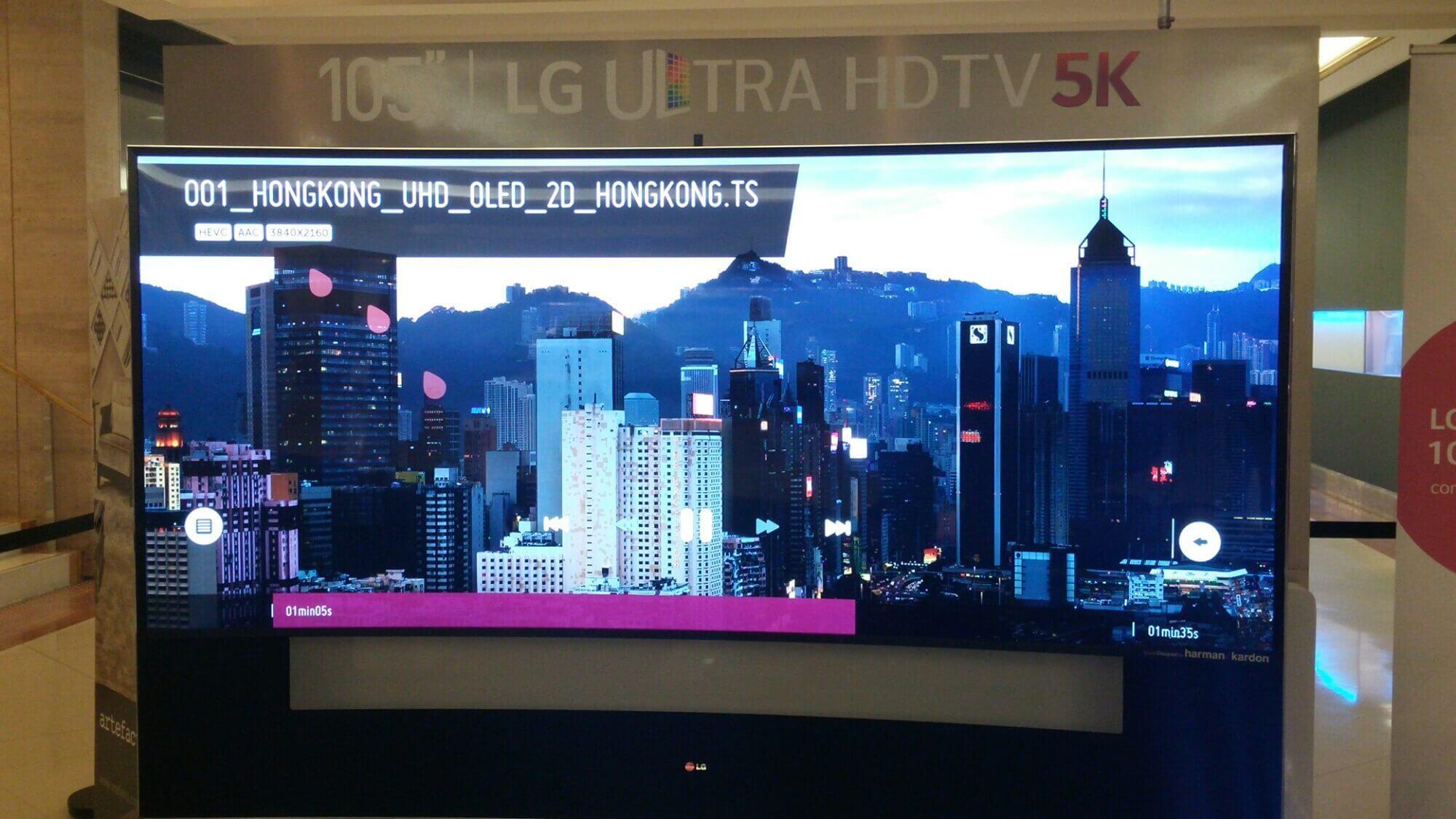 LG ultrapassa o 4K e lança TV Ultra HD 5K no Brasil