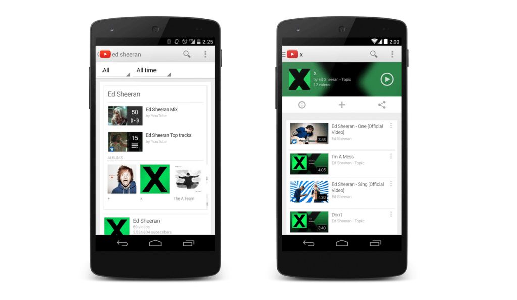 youtube music key google play