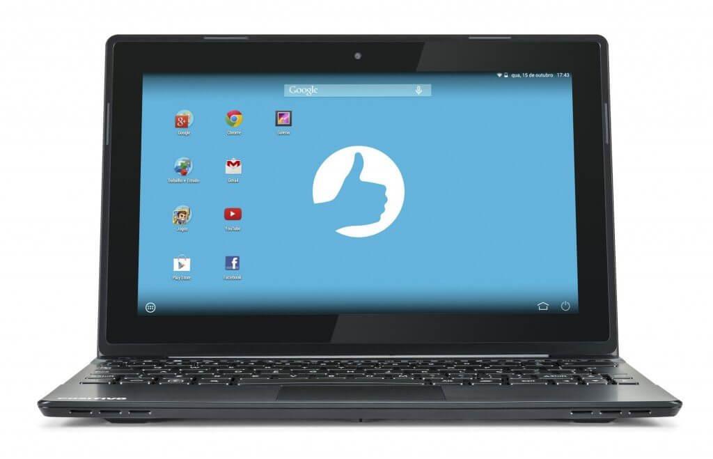 Positivo anuncia notebook com sistema Android por R$799