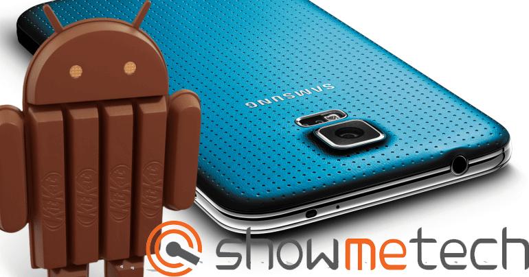 sgs5 st - Tutorial: atualizando o Galaxy S5 para o Android 4.4.2 KitKat