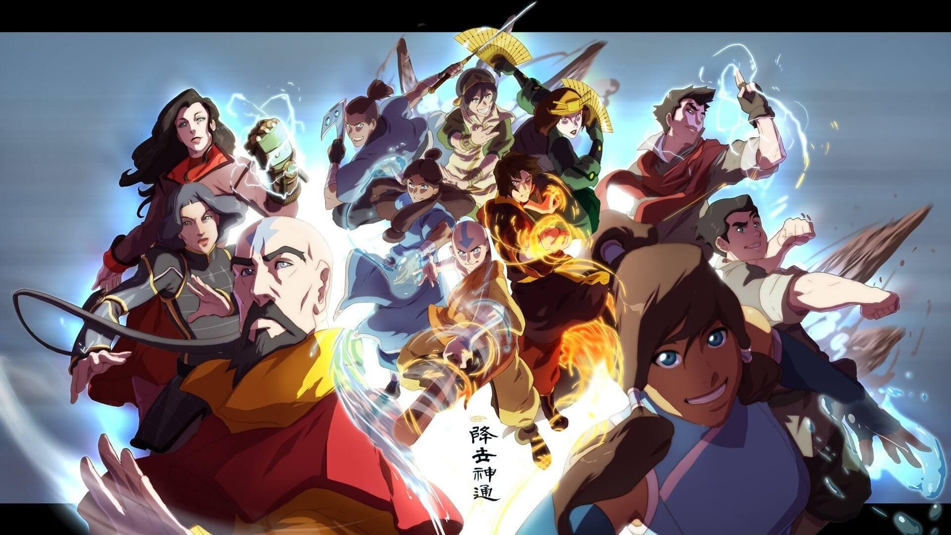 avatar the legend of korra widescreen wallpaper