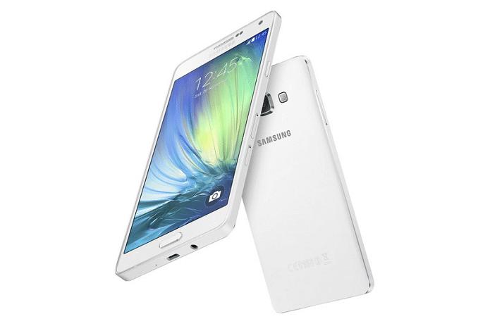 Samsung divulga especificações do Galaxy A7