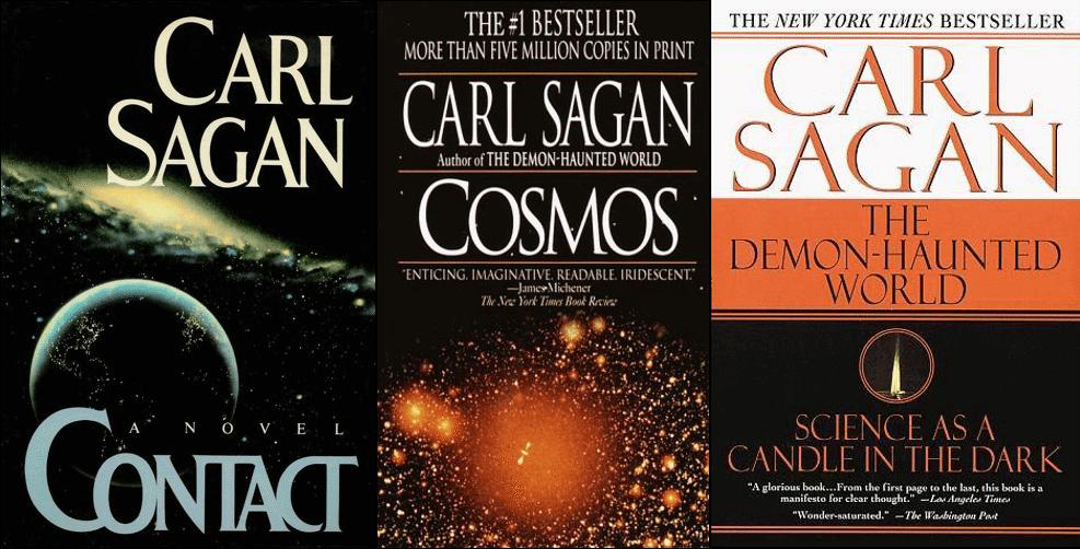 Carl sagan livros