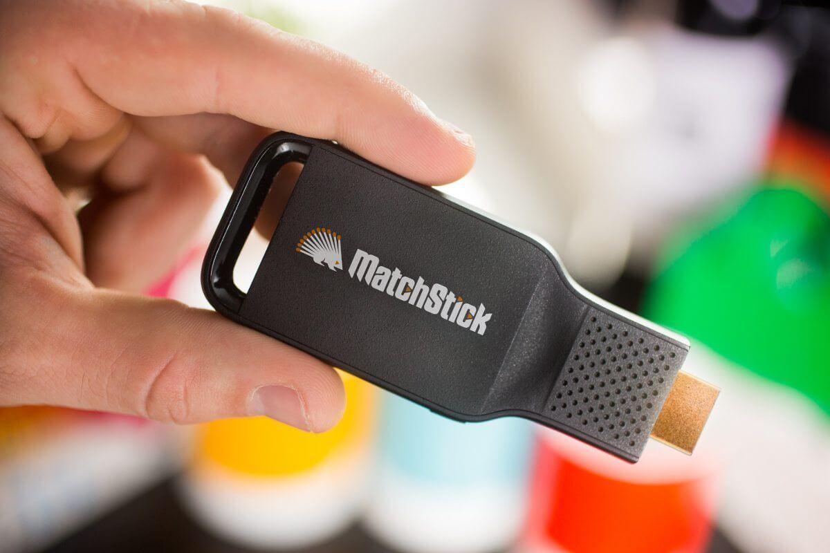 matchstick hand - Matchstick, o Chromecast da Mozilla