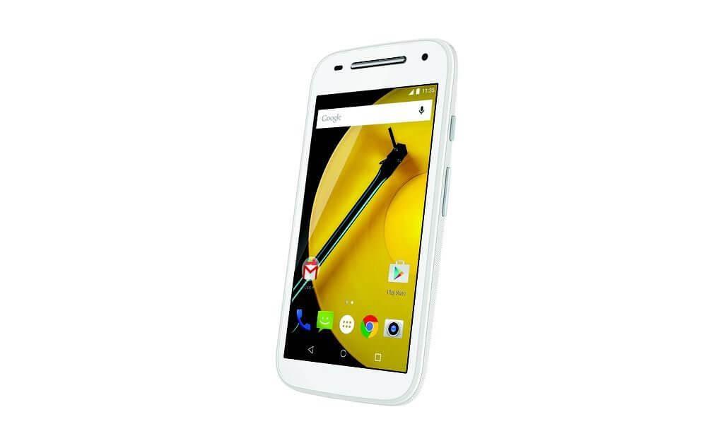 moto e lte  2nd gen   front dynamic   white 0 - Motorola lança Moto E 4G por R$699 no Brasil