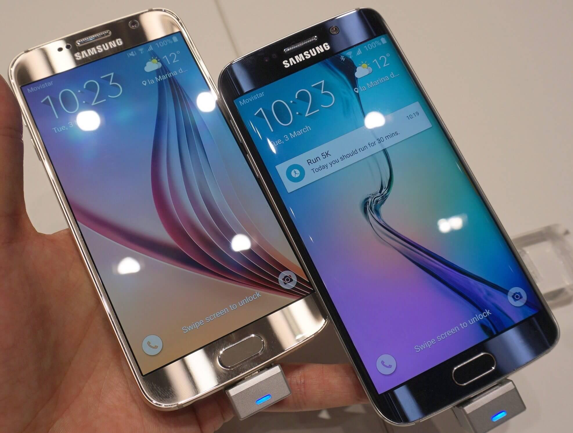 MWC15: veja o review hands-on dos novos Samsung Galaxy S6 e S6 Edge 9