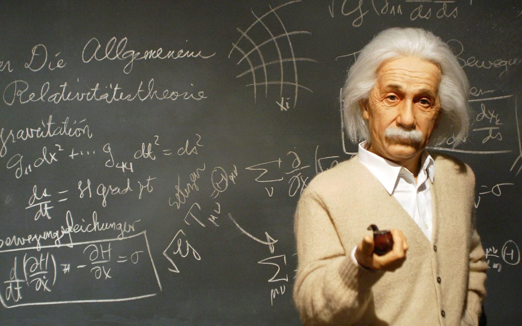 Einstein man