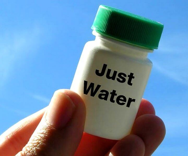Homeopathy debunked because its just water