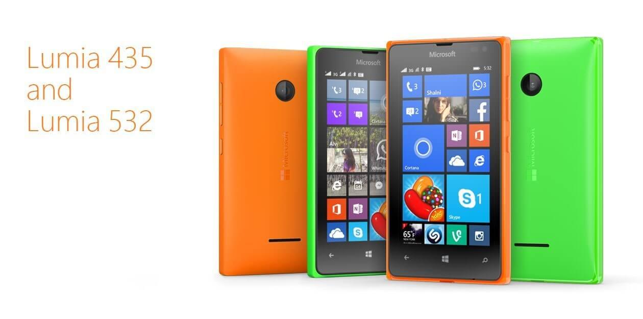 Lumia 435 e Lumia 532 com preços baixos e TV Digital