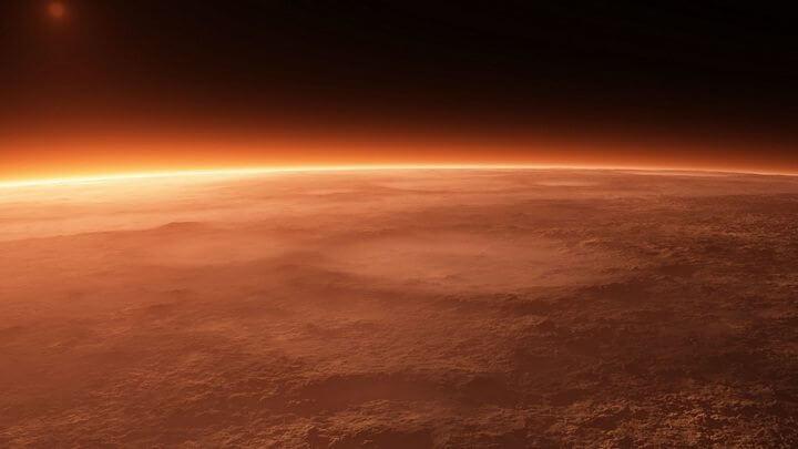 Vida em Marte: Gelo seco poderia fornecer energia para as futuras colônias em Marte