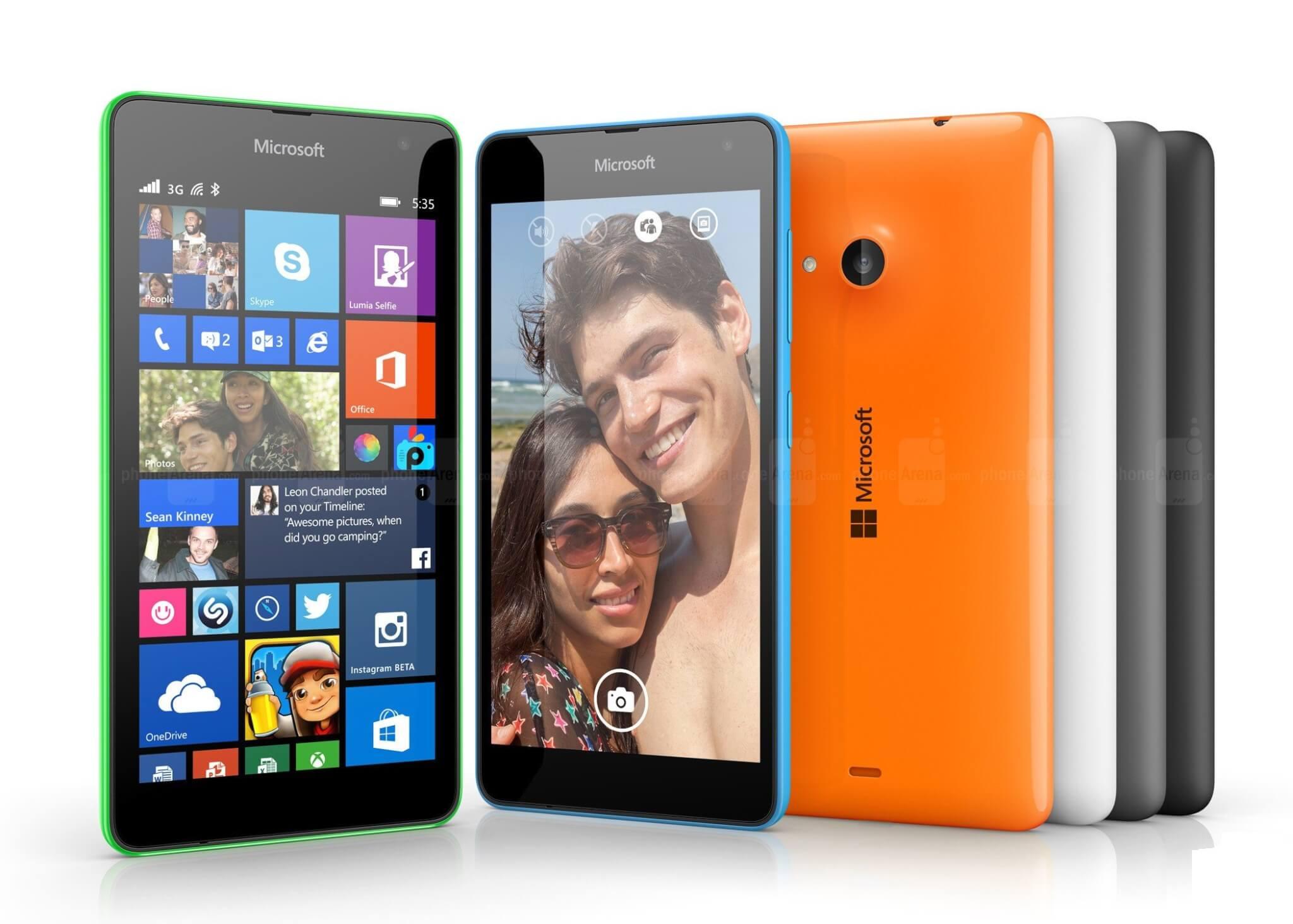 microsoft lumia 535 1a - Lumia 535 é o Windows Phone mais popular do mundo