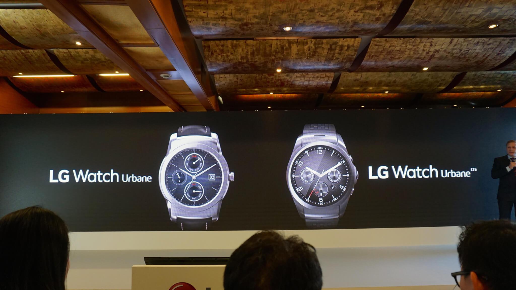 MWC 2015: LG anuncia relógios Urbane e Urbane LTE