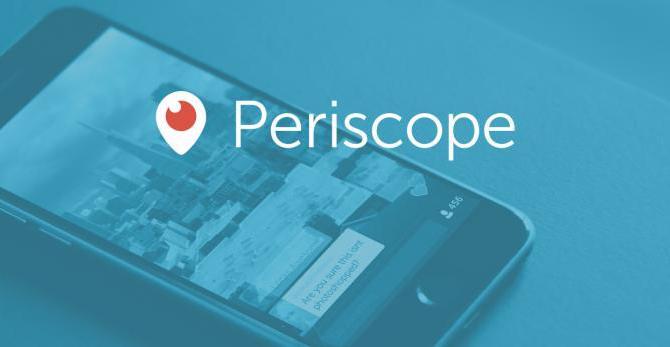 twitter app periscope transmissao video