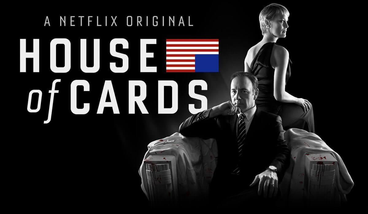 Pelo twitter, Netflix anuncia 4ª temporada de House of Cards