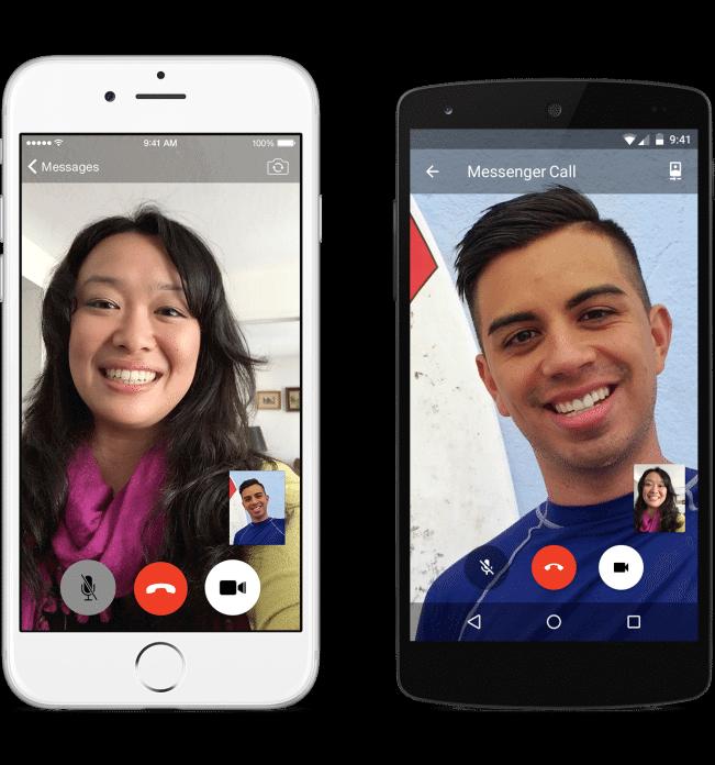 Messenger video call2