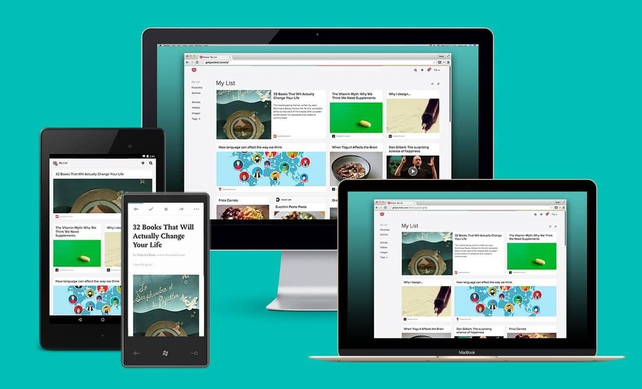 pocket novo - Pocket comemora 3 anos com novo design para versão Web