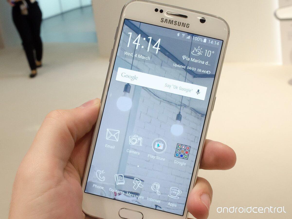 s6 tema - Samsung prepara diversos temas para customizar o Galaxy S6