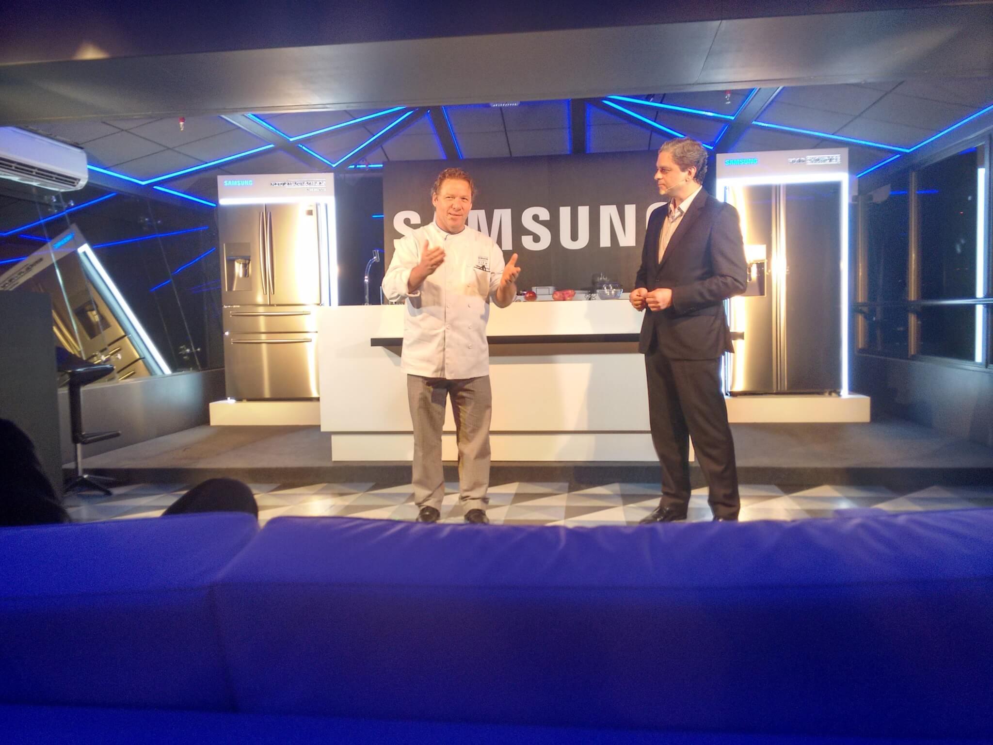 Samsung apresenta duas novas geladeiras premium