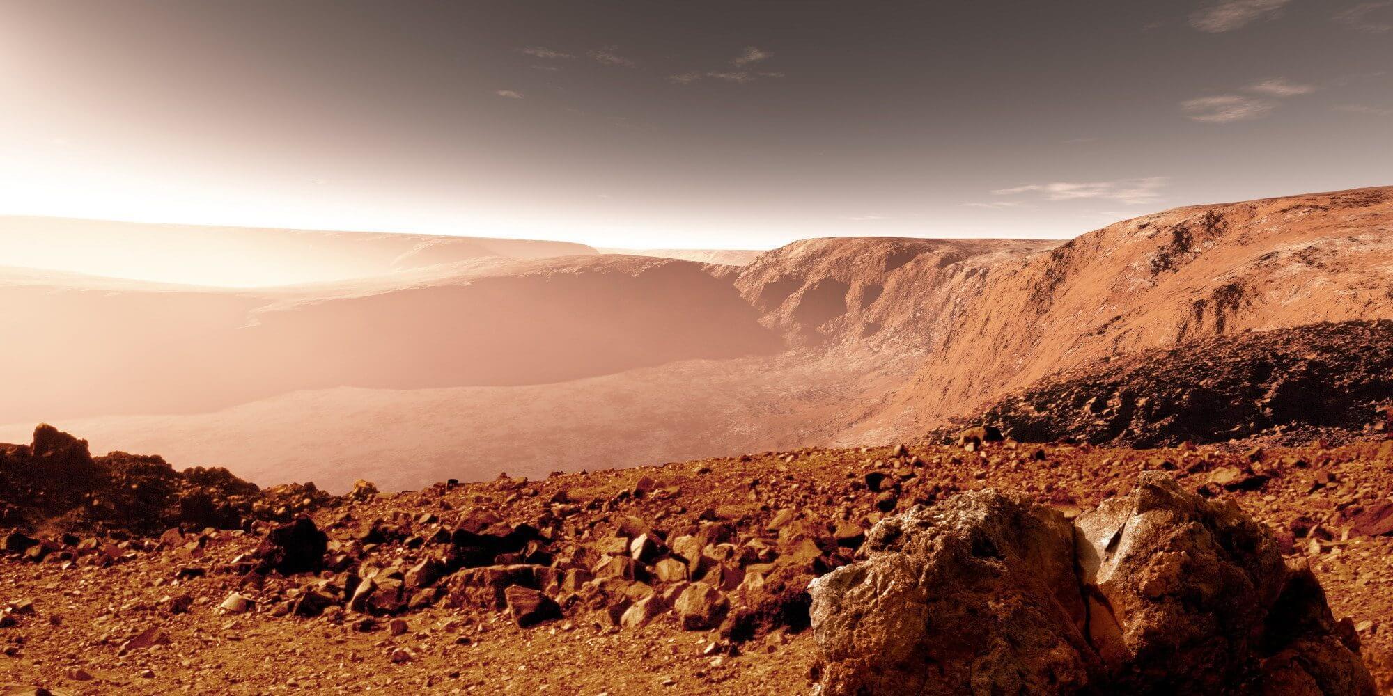 Como Marte pode conter o segredo da origem da vida na Terra 5