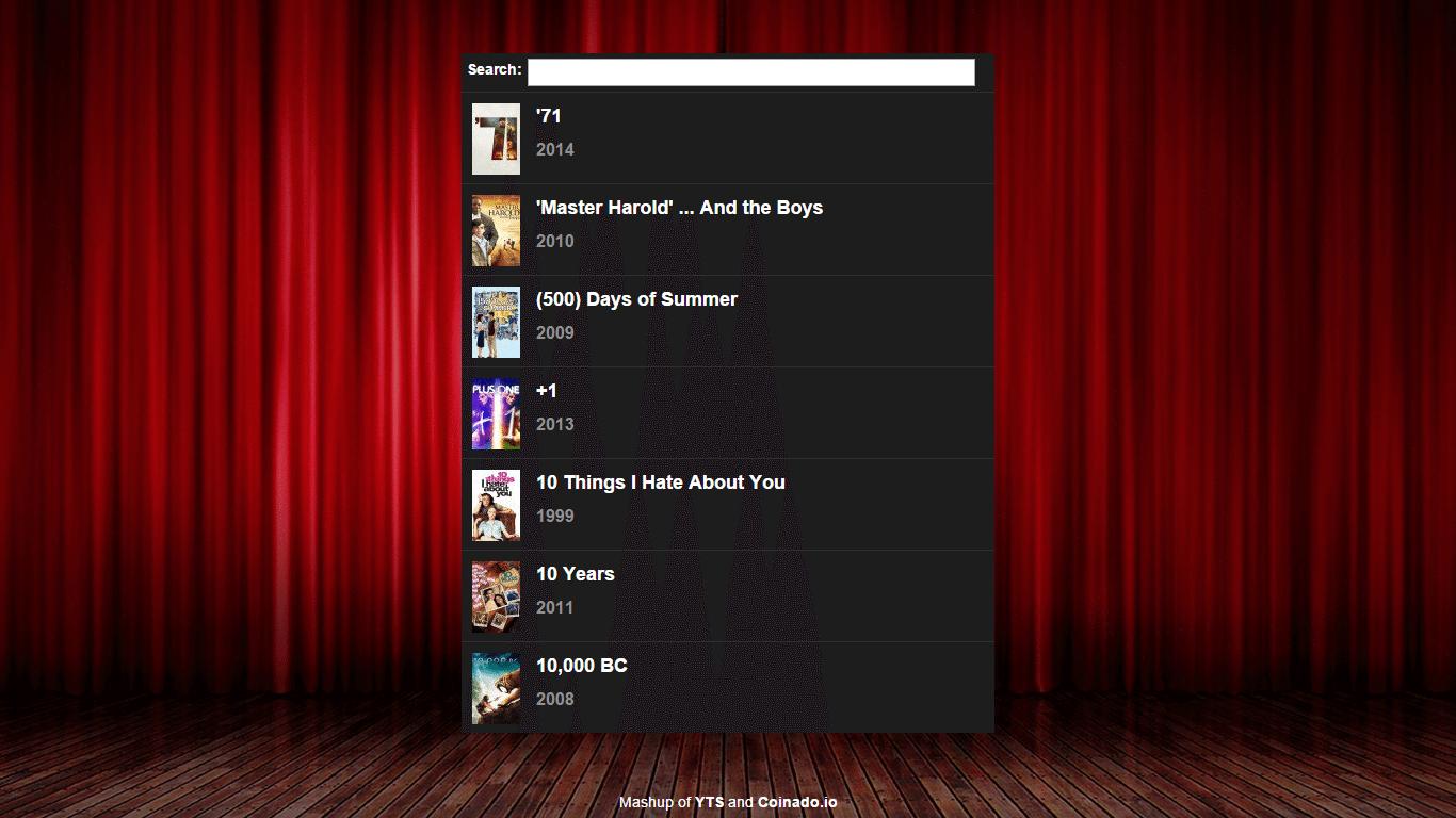 Popcorntime browser