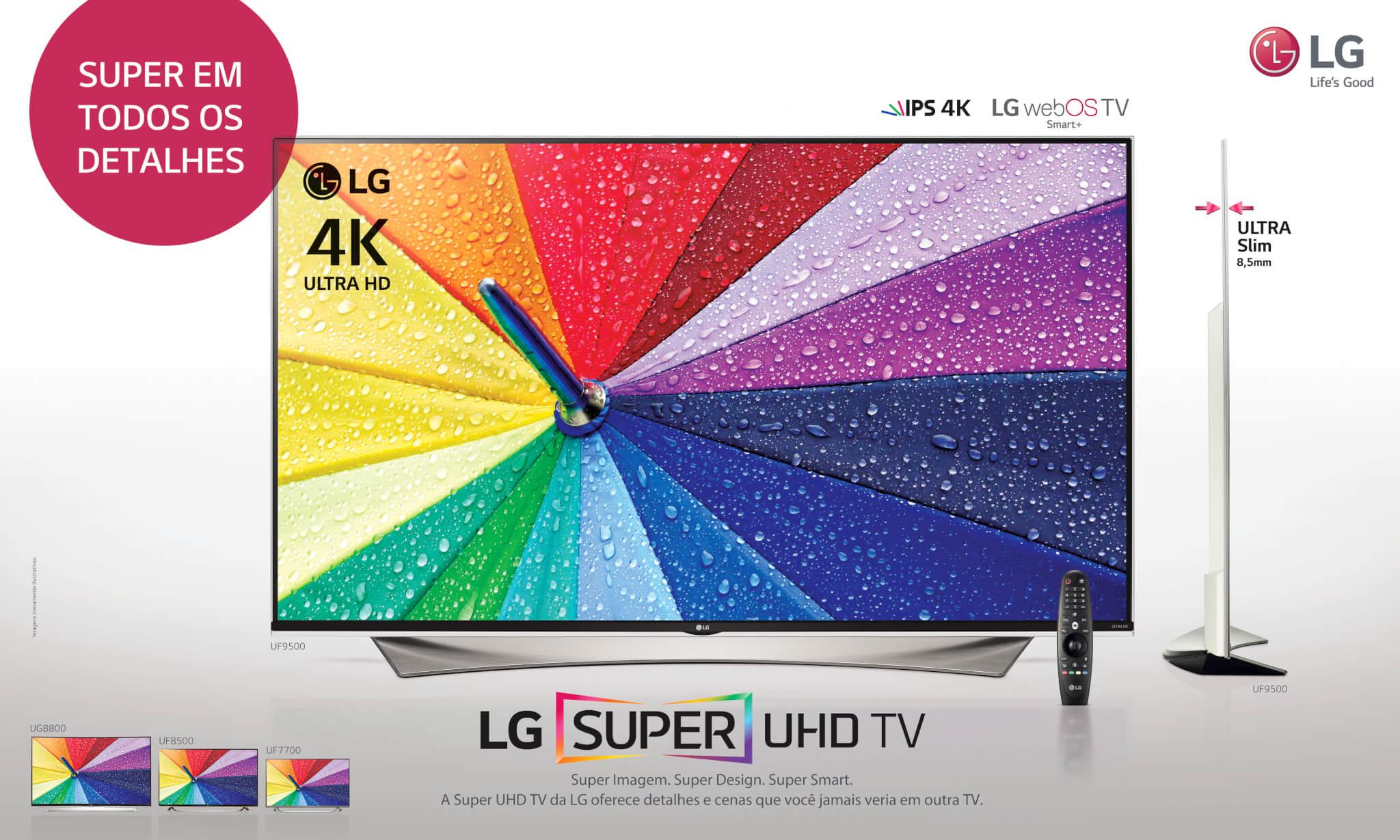 Hiper-realidade? LG lança TV Super Ultra HD no Brasil