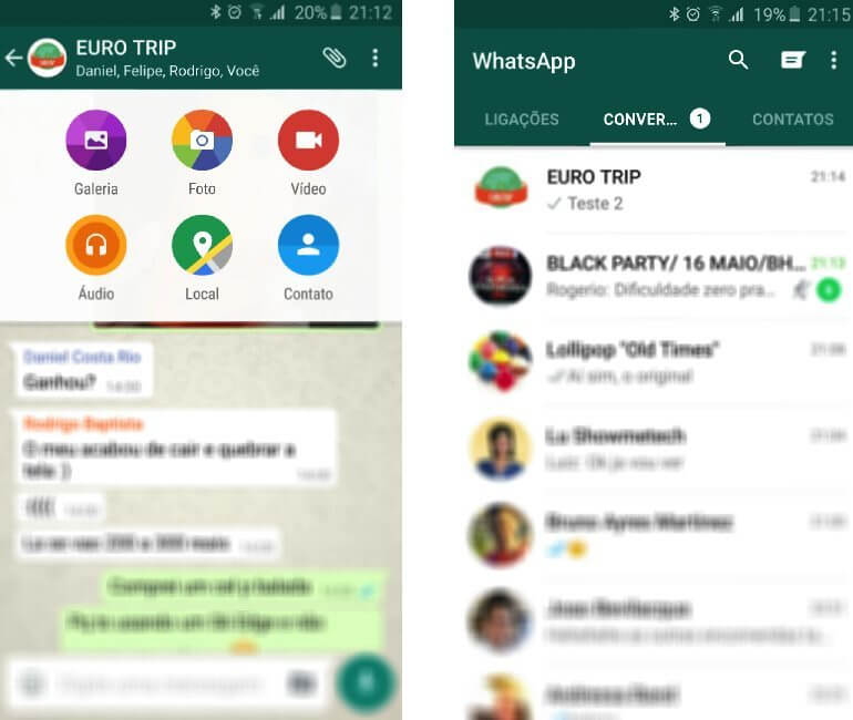 whatsapp material desig android