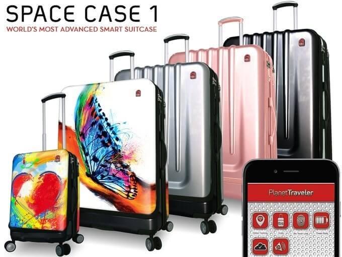 Conheça a Space Case 1, a mala mais inteligente do mundo