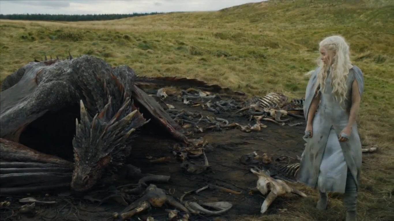 "dany e drogon1 - Análise do episódio 5×10 ""Mother's Mercy"" de Game of Thrones (season finale)"