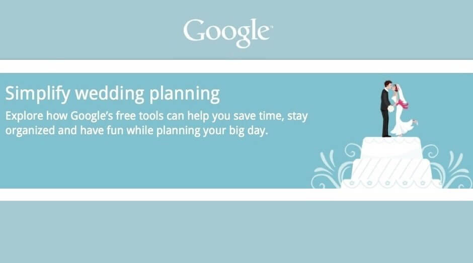 googlewedding - Google Weddings promete ajudar a planejar o casamento