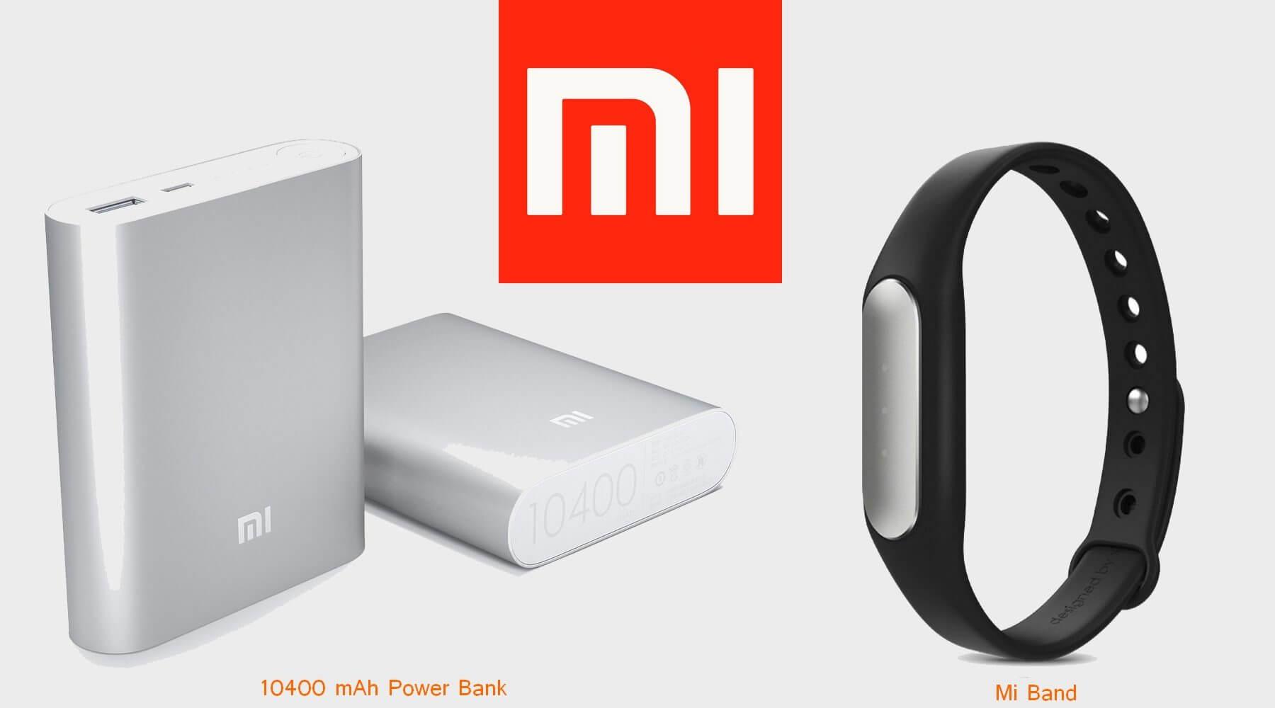 Smartband e Power bank são outras novidades trazidas pela Xiaomi para o Brasil