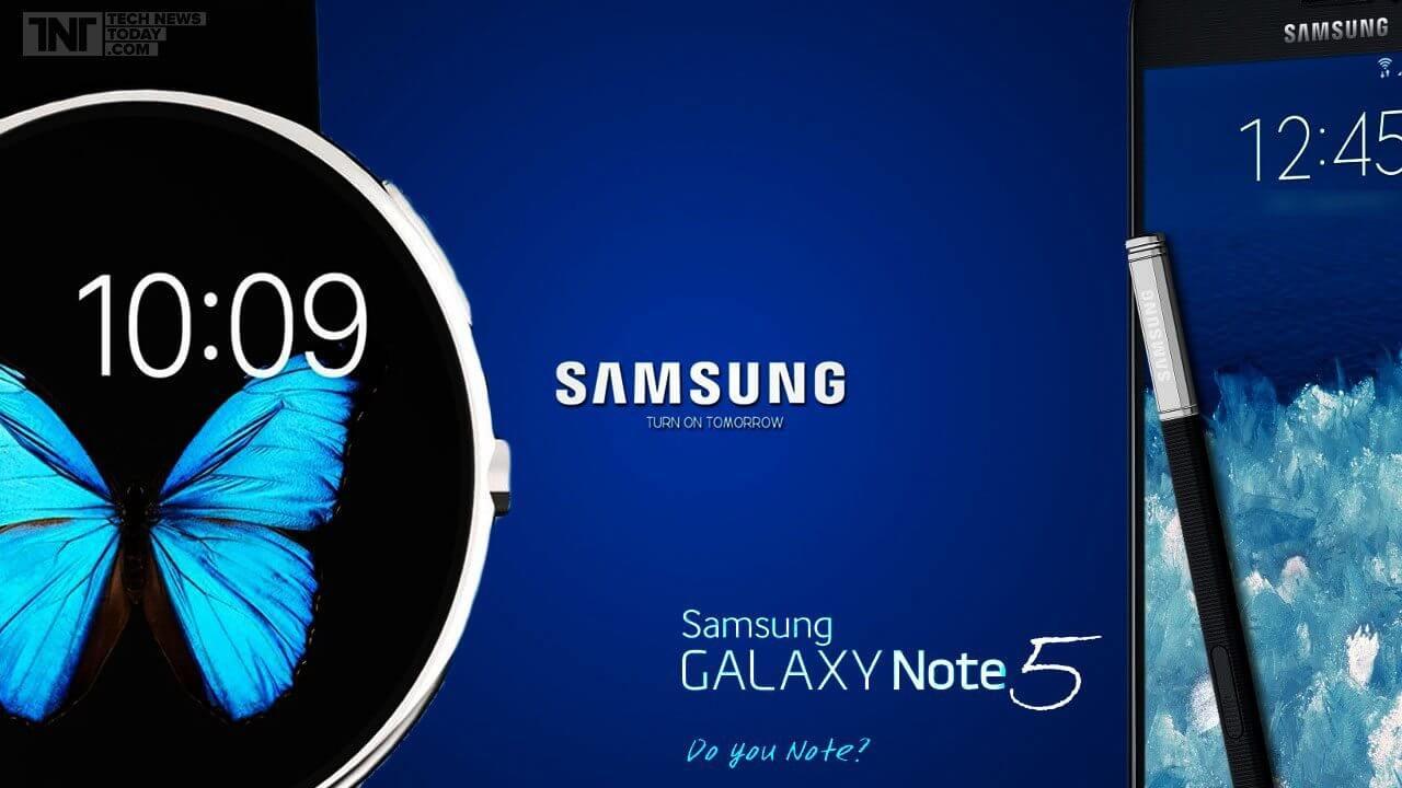 Lançamento do Galaxy Note 5 pode ser adiantado pela Samsung