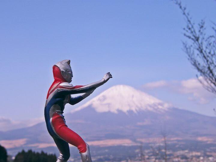 Ultraman monte fuji