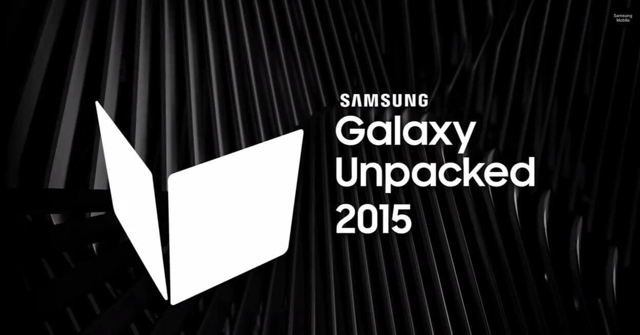 Galaxy unpacked 2015