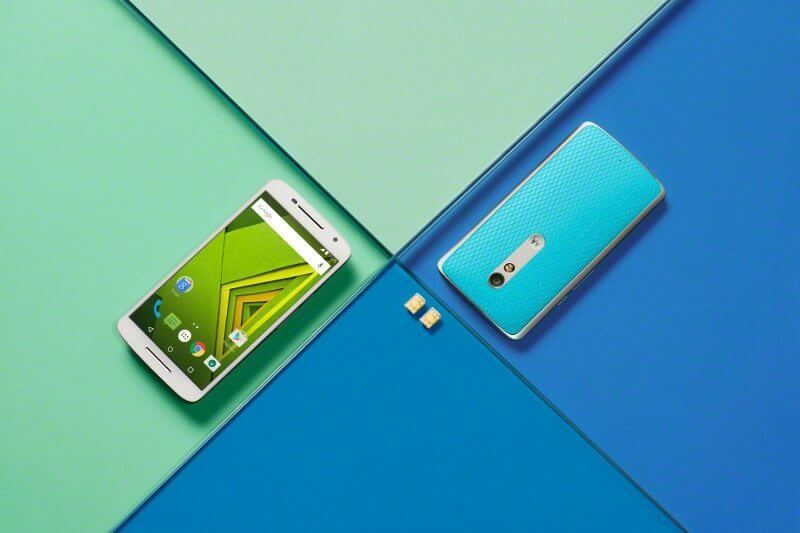 moto x play blue white lifestyle