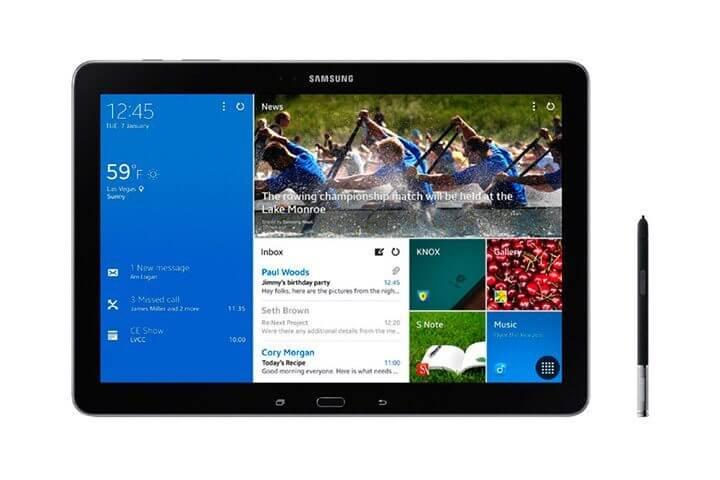 Rumores samsung pode lancar tablet com tela de 18 polegadas