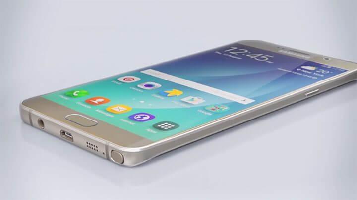 Samsung galaxy note 5 tela