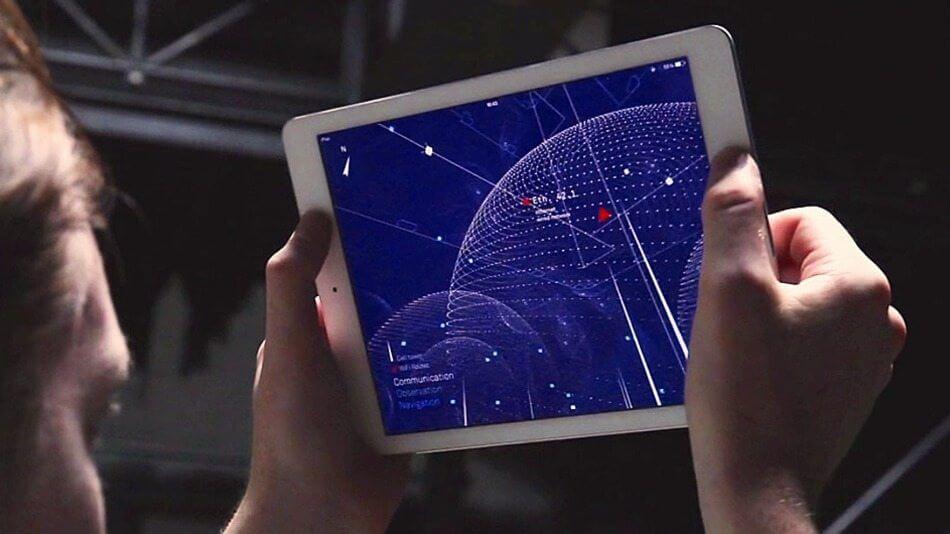 App para iPad revela ondas de WiFi ocultas ao seu redor