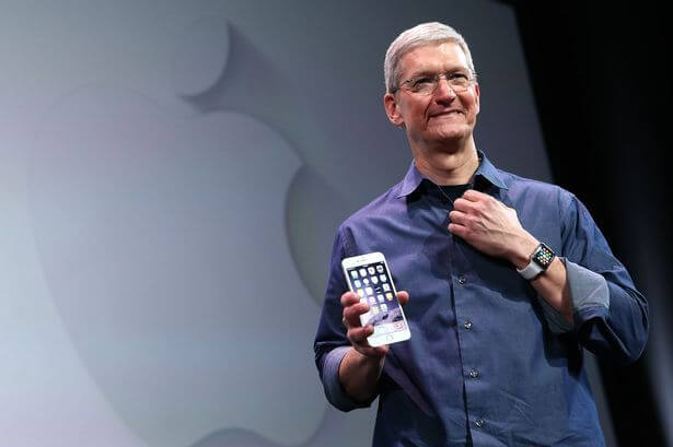 Apple tim cook iphone 6s showmetech