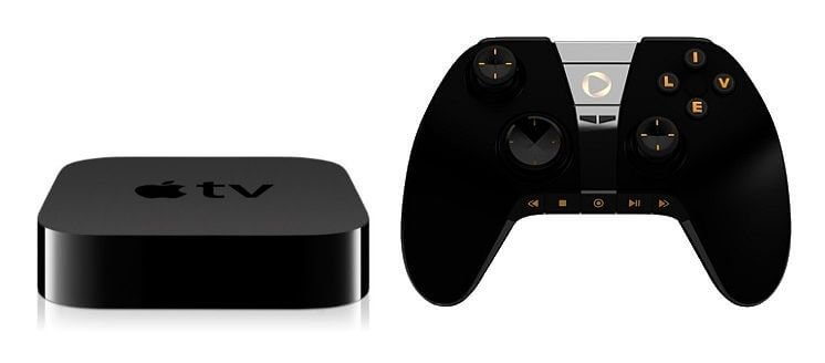 apple tv with game controller