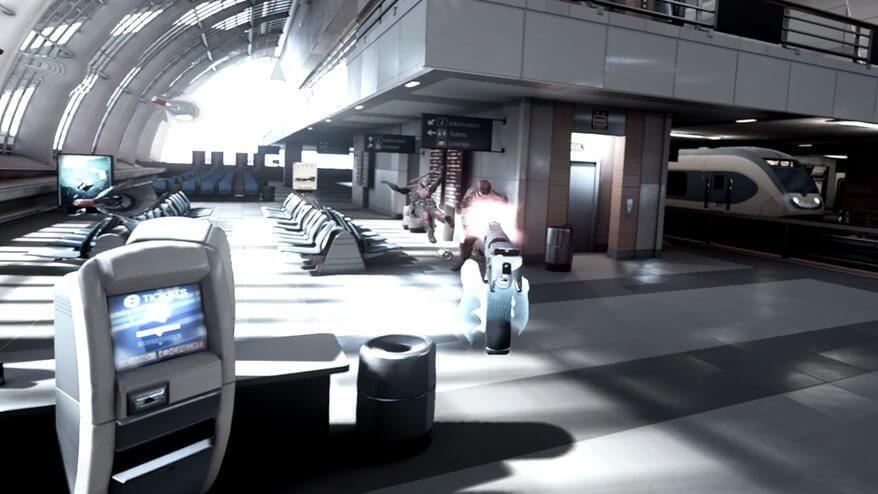 Bullet Train: um FPS de Realidade Virtual