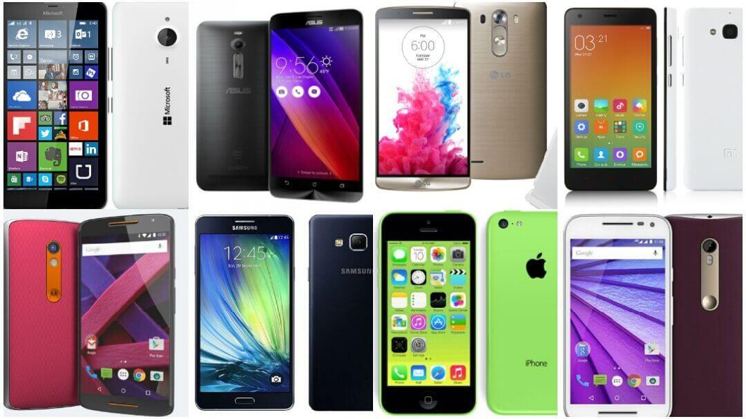 Custo-benefício: os melhores smartphones até R$1.500,00
