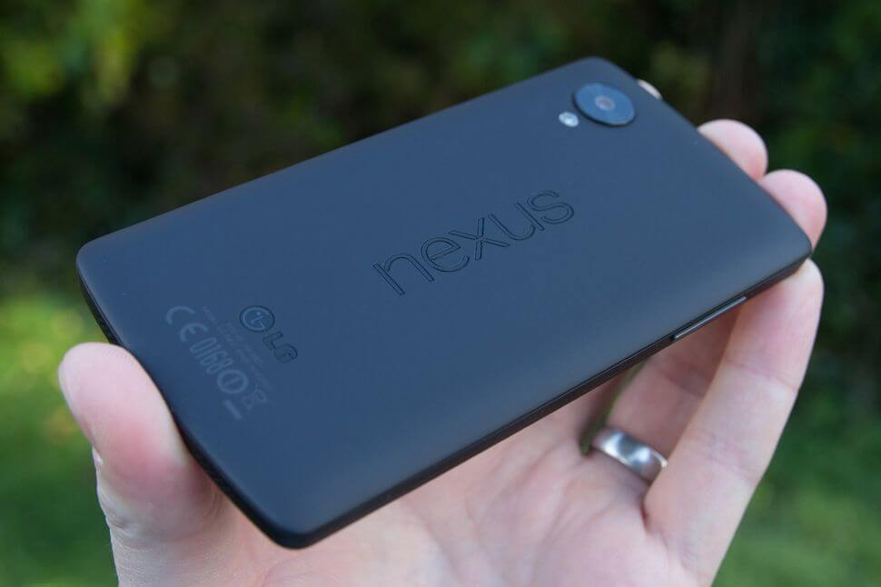 Novo Nexus 5 da LG deve ter sensor de impressão digital traseiro