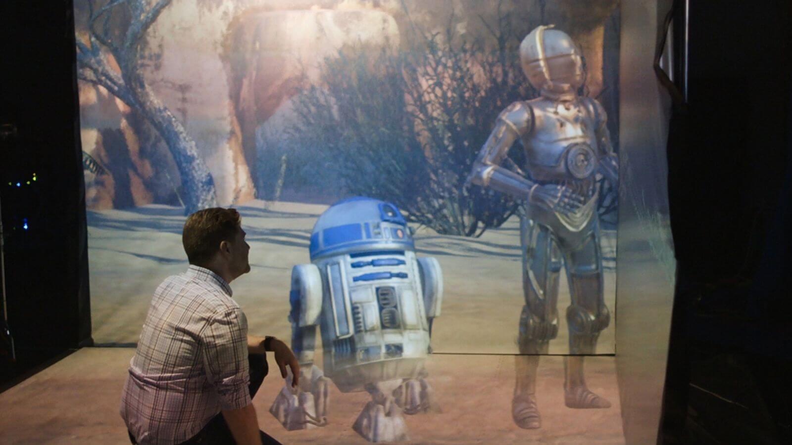 Entre no universo de Star Wars pelo laboratório secreto de realidade virtual da ILM