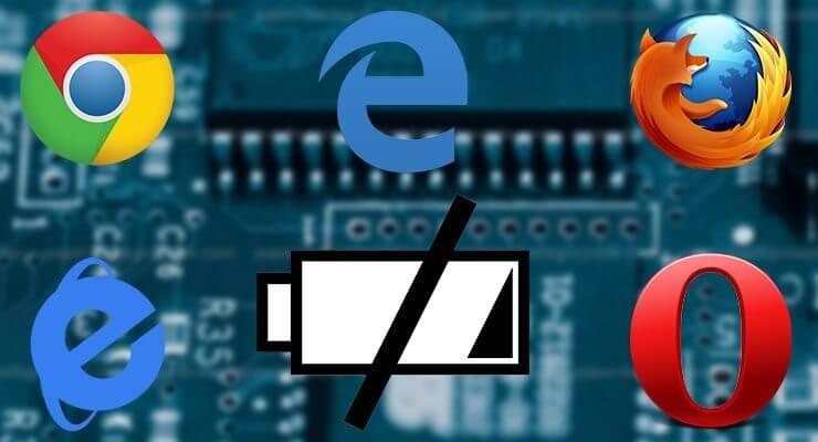 Bateria navegador