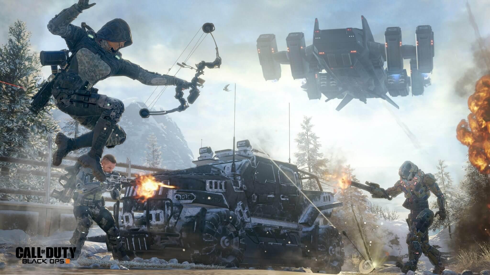 Call of Duty: Black Ops III não terá modo campanha para Xbox 360 e Ps3
