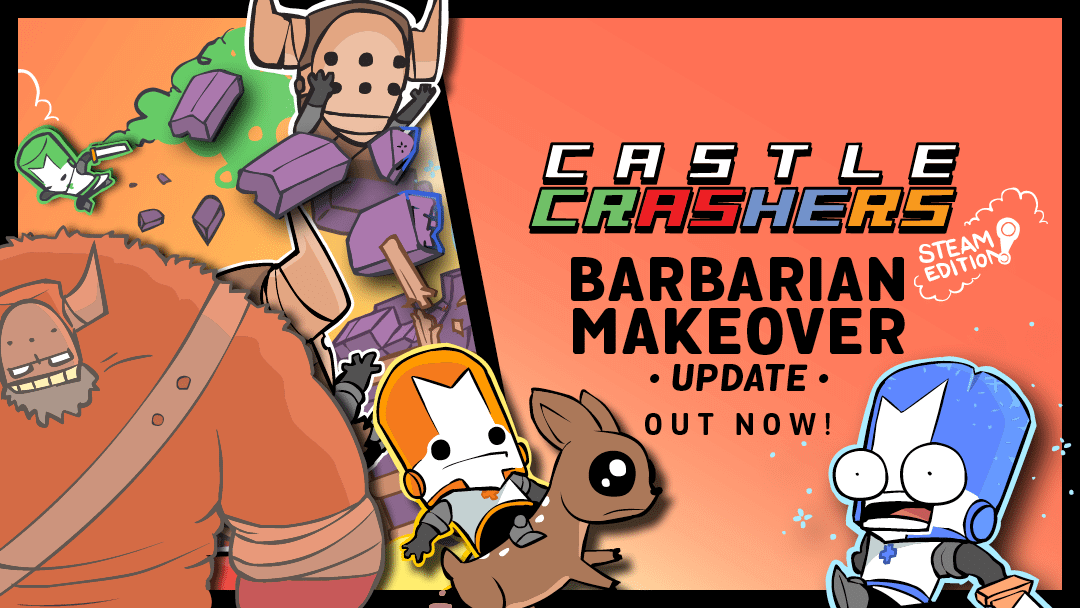 Castle crashers barbarian makeover