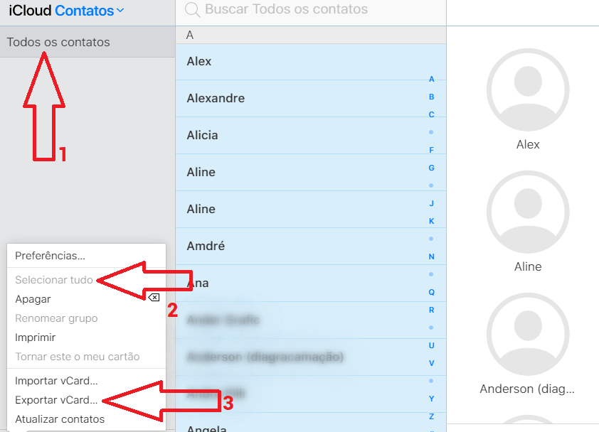 Passo a passo para transferir contato iPhone e Android